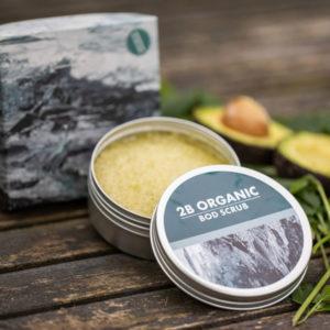 2B Organic - Male Bod Scrub